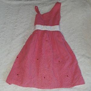 Flower Gem Dress Cute & Classy